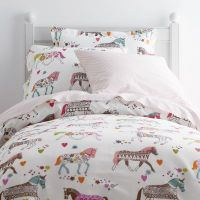 Carousel Percale Sheets & Bedding Set | Company Kids