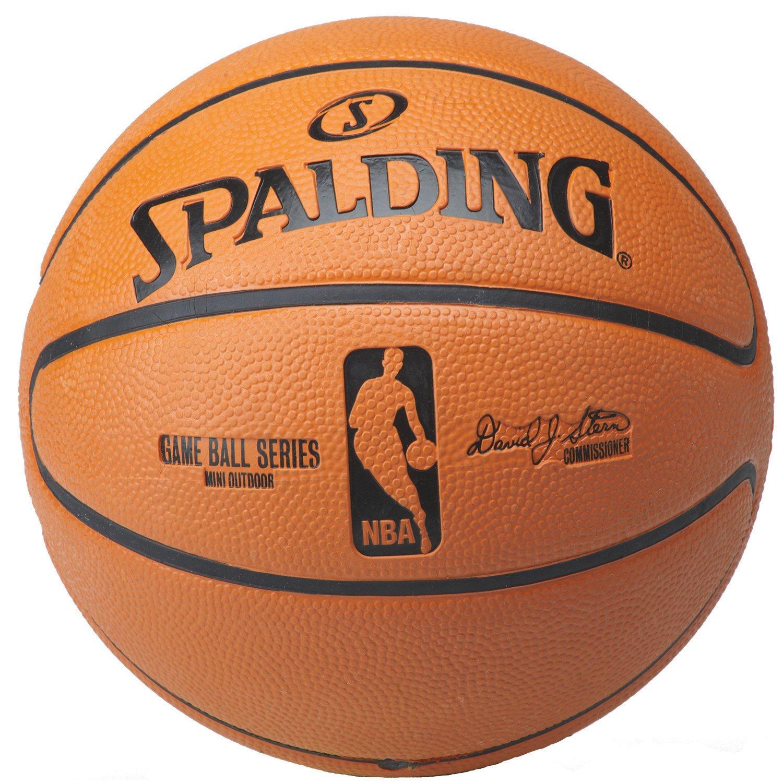 Spalding nba replica game ball mini size youth basketball also basketballs  wilson academy rh