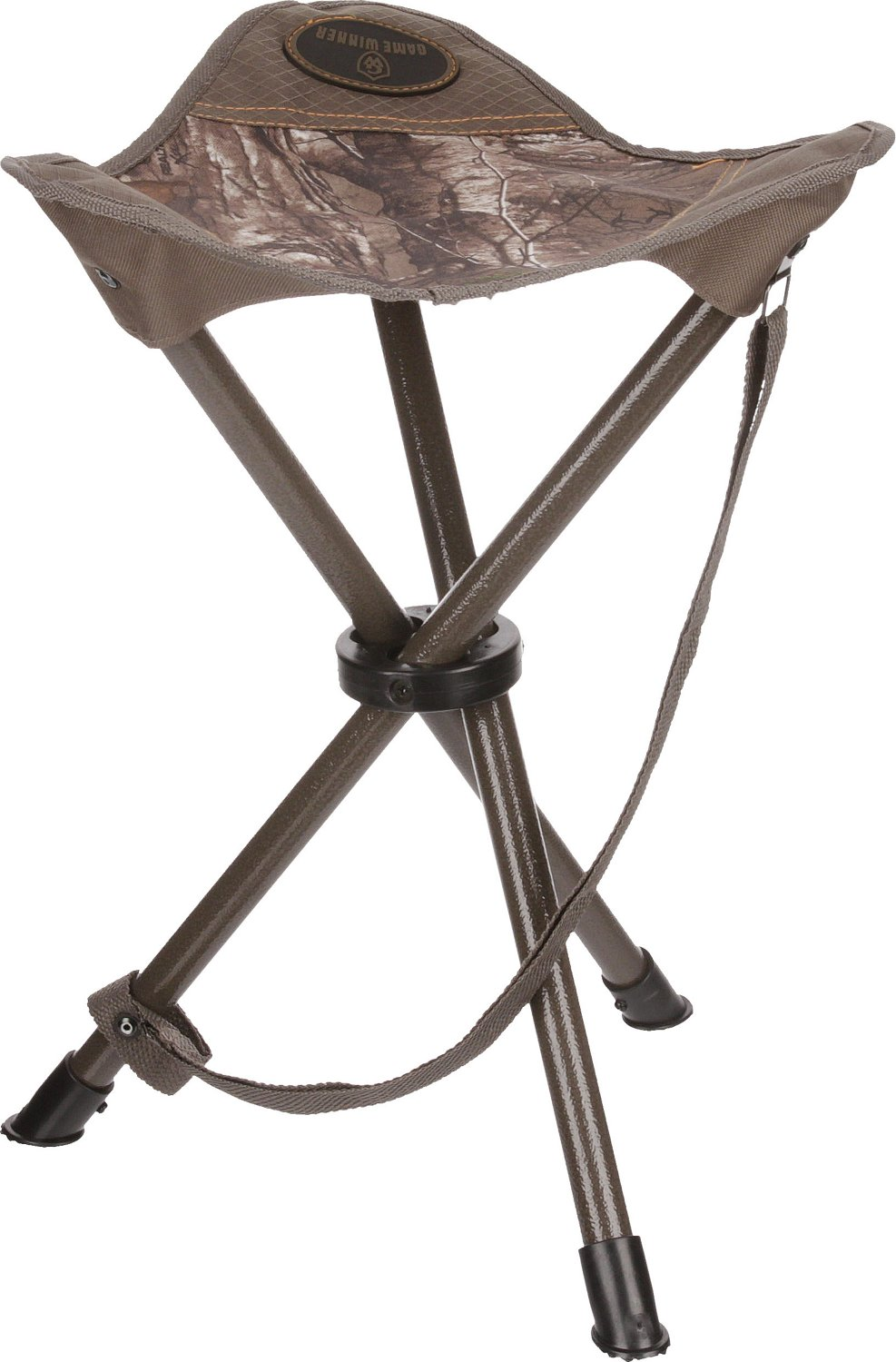 3 legged chair outside covers game winner realtree xtra green folding stool academy hover click to enlarge
