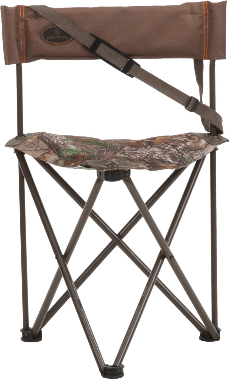 duck blind chair adirondack chairs teak stool hunting seats realtree xtra