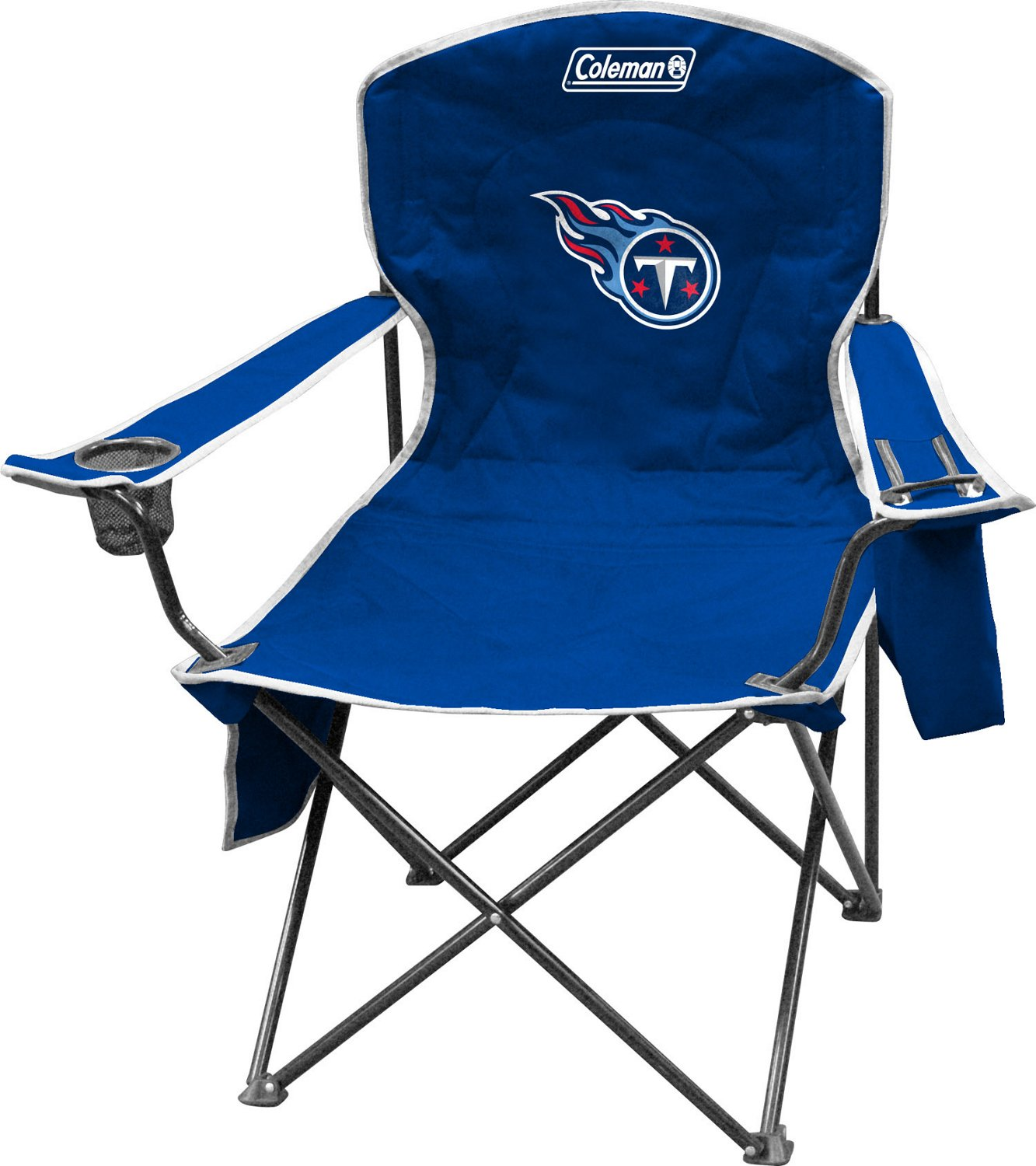 coleman folding chairs modena modern white leather accent chair team academy tennessee titans cooler quad xl