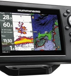 display product reviews for humminbird helix 5 g2 chirp gps chartplotter [ 1500 x 1081 Pixel ]