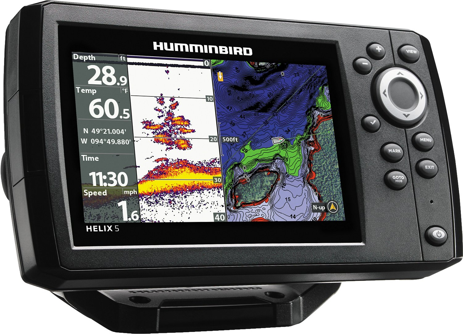 hight resolution of display product reviews for humminbird helix 5 g2 chirp gps chartplotter