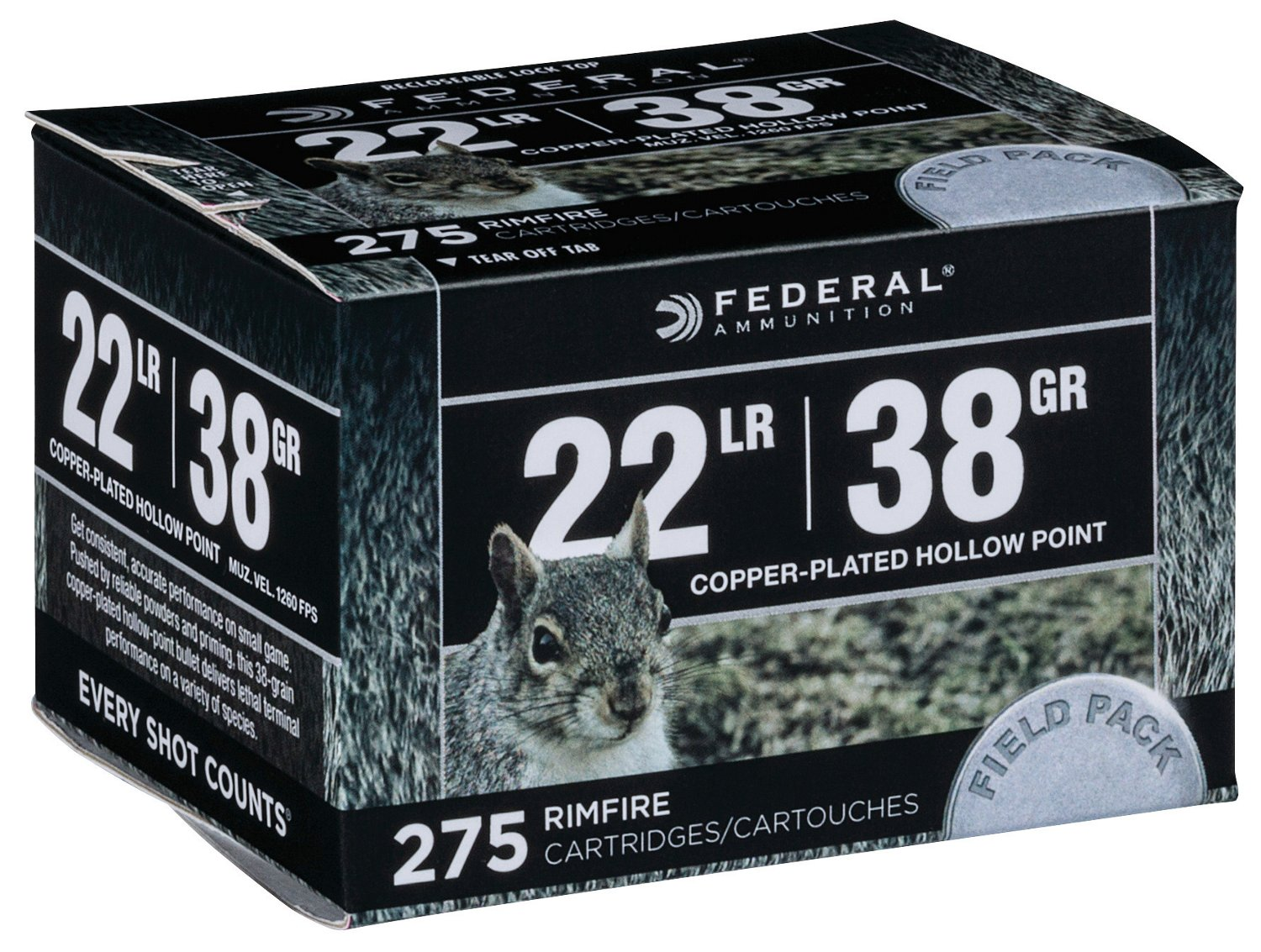 hight resolution of display product reviews for federal premium range and field 22 lr 38 grain rimfire