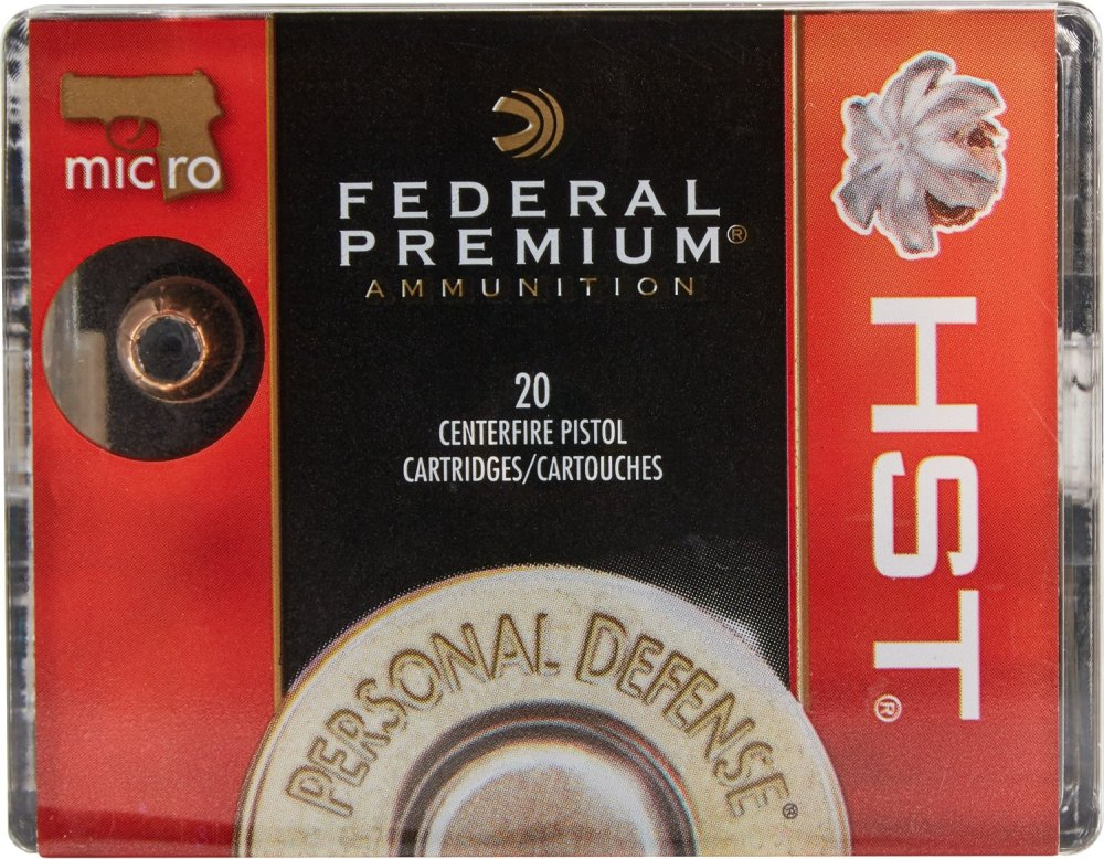 medium resolution of display product reviews for federal premium hst 9mm luger micro 150 grain pistol ammunition