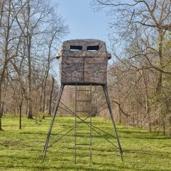 Swivel Chair Tree Stand Matrix Fishing Review Treestands Blinds Hunting And Ladder Stands Game Winner 2 Man Quad Pod Realtree Xtra Accessory Kit