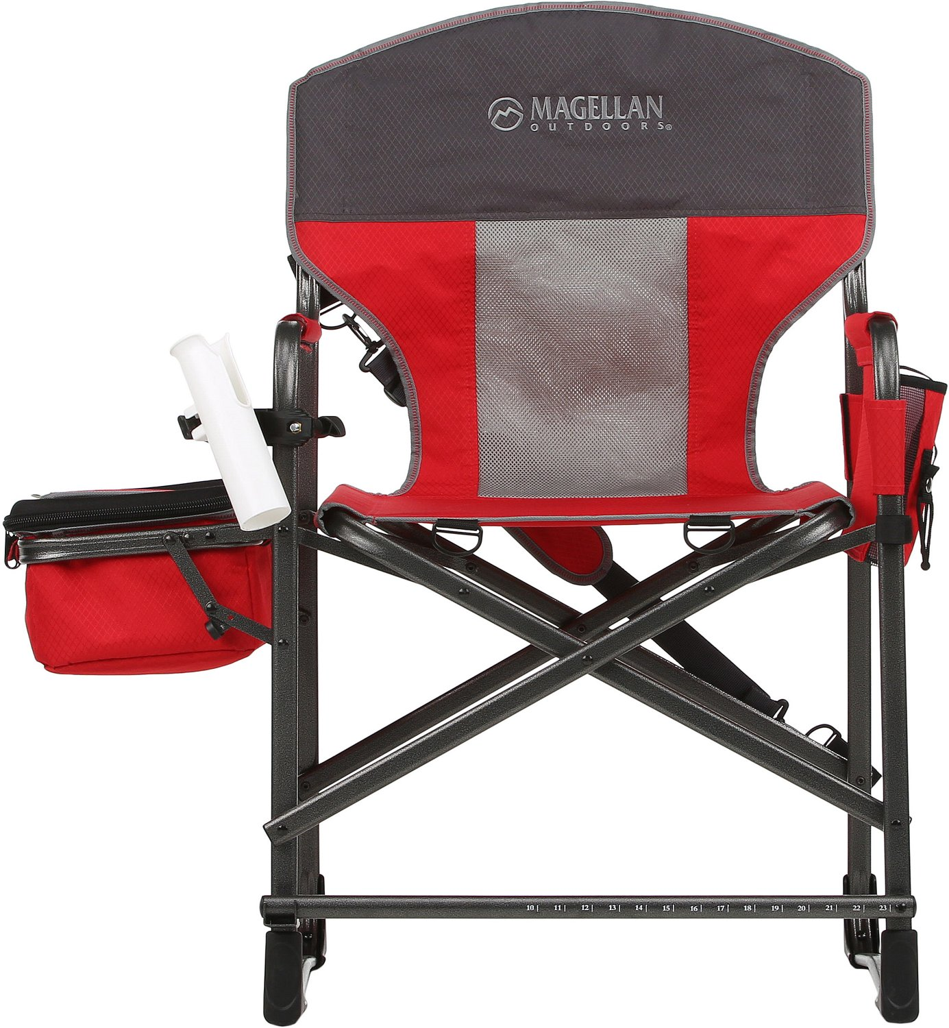 fishing chair bed reviews steve silver dining chairs folding plastic wooden fabric metal display product for magellan outdoors director s