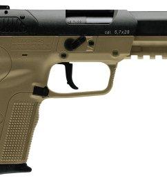 fn five seven fde blk 5 7x28 full sized 20 round pistol academy poor man s 5 7 [ 1500 x 1057 Pixel ]