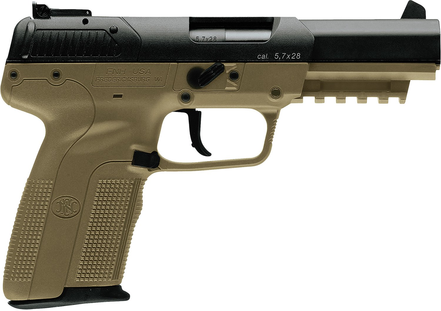 hight resolution of fn five seven fde blk 5 7x28 full sized 20 round pistol academy poor man s 5 7