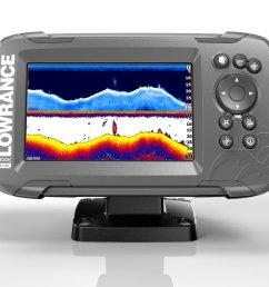 display product reviews for lowrance hook2 5 splitshot fishfinder gps combo [ 1500 x 965 Pixel ]