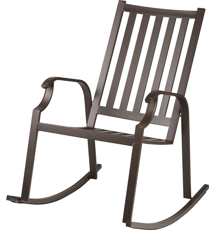 mosaic rocking ladder chair