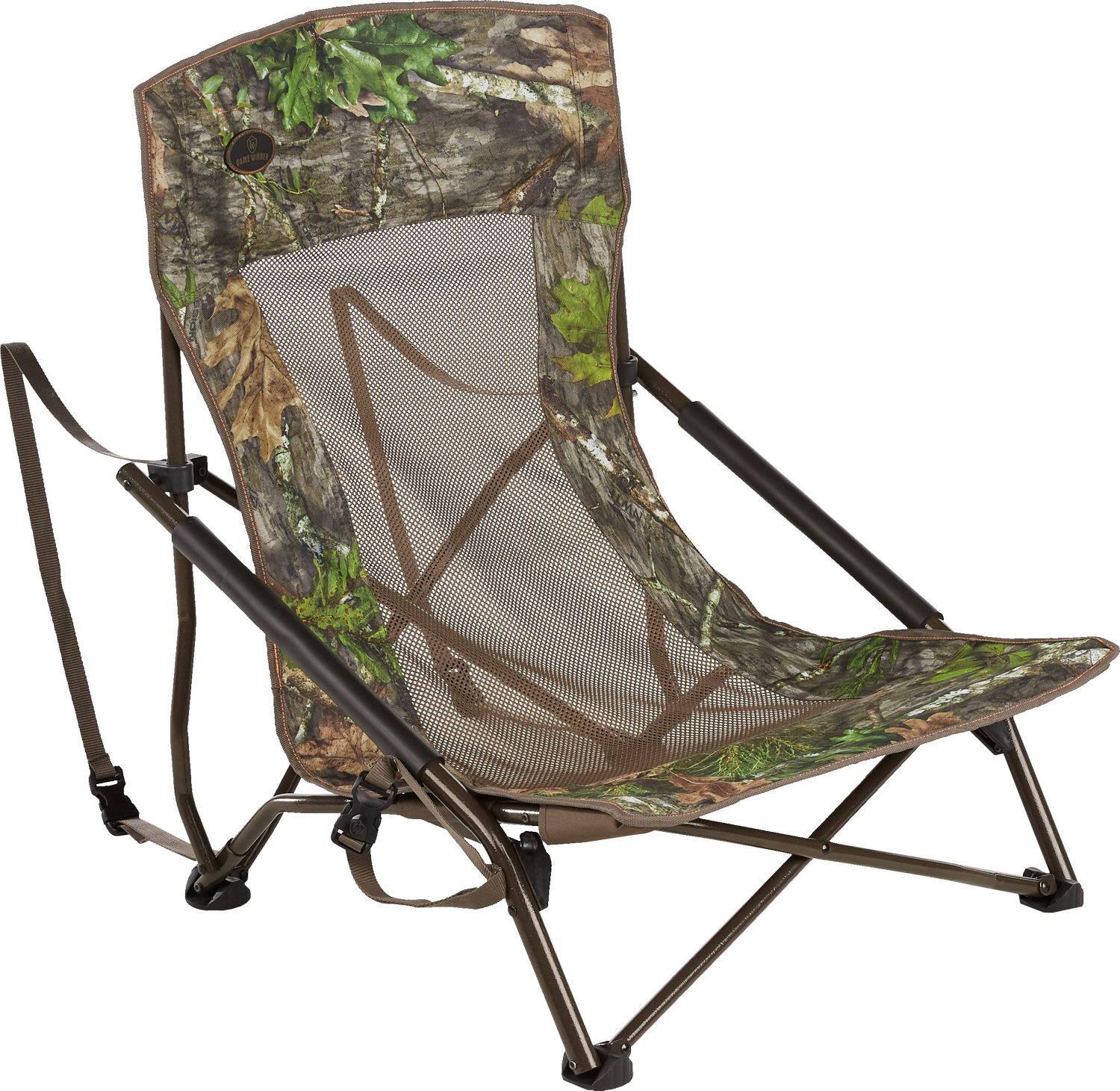 summit trophy chair review breast feeding stool chairs hunting seats blind low profile camo mesh turkey