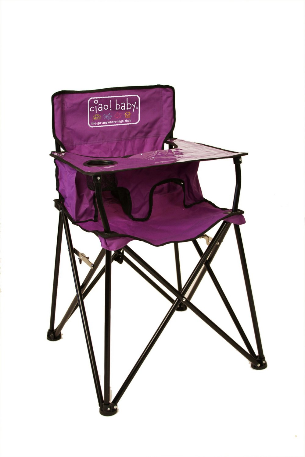 high folding chair qvc swivel chairs plastic wooden fabric metal portable go anywhere