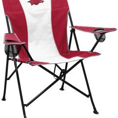 49ers Camping Chair High Covers Team Chairs Nfl Folding Ncaa Tailgate Academy University Of Arkansas Pregame