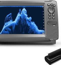 display product reviews for lowrance hook2 9 splitshot with us lakes maps [ 1500 x 1073 Pixel ]