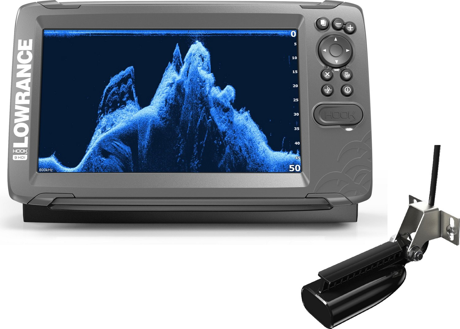 hight resolution of display product reviews for lowrance hook2 9 splitshot with us lakes maps