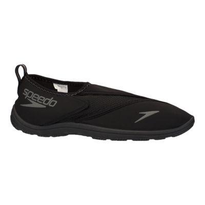 All Black Slip On Shoes Mens
