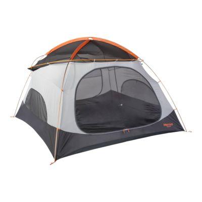 Marmot Halo 6 Person Tent - Tangelo Rusted Orange Atmosphere.ca