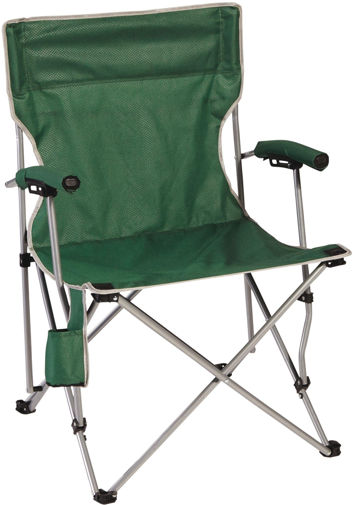 kijaro dual lock folding chair xxl the barcelona green camping chairs | dick's sporting goods