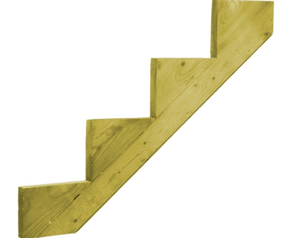 Peak Products 3 Step Steel Stair Riser For Patios And   Patio Steps Home Depot