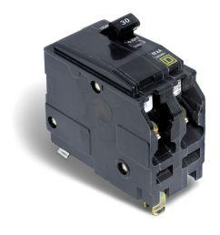 double pole 30 amp qo plug on circuit breaker photo of product [ 994 x 1000 Pixel ]