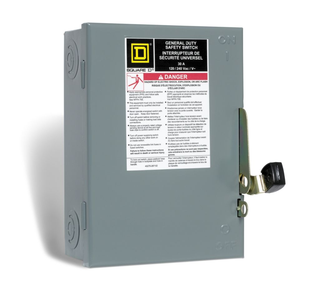 square d 60 amp generator panel with 18 spaces 36 circuits maximum the home depot canada [ 1000 x 945 Pixel ]