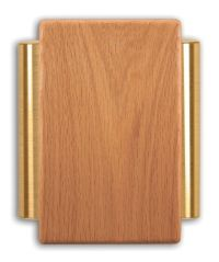 Heath Zenith Wired Door Chime With Solid Oak Cover And ...