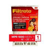 Filtrete Allergen Reduction Deep Pleat Filter, DP01DC-4-C ...