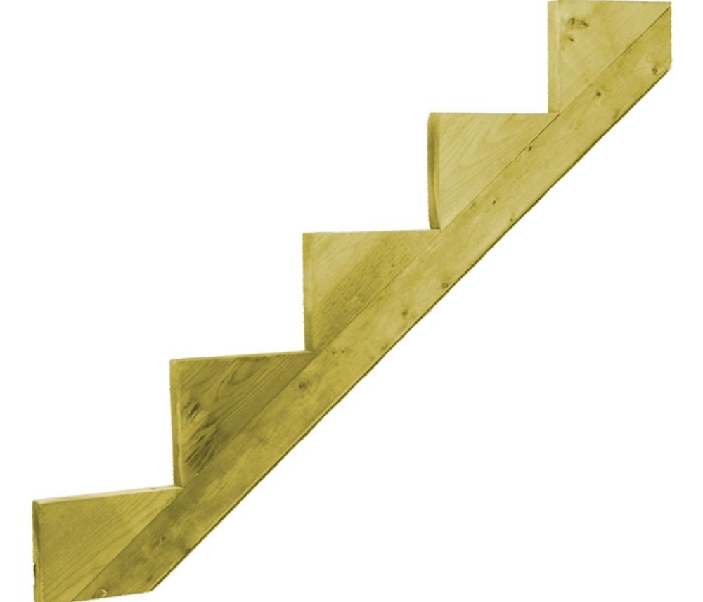 Outdoor Stair Stringers Risers The Home Depot Canada | Patio Steps Home Depot