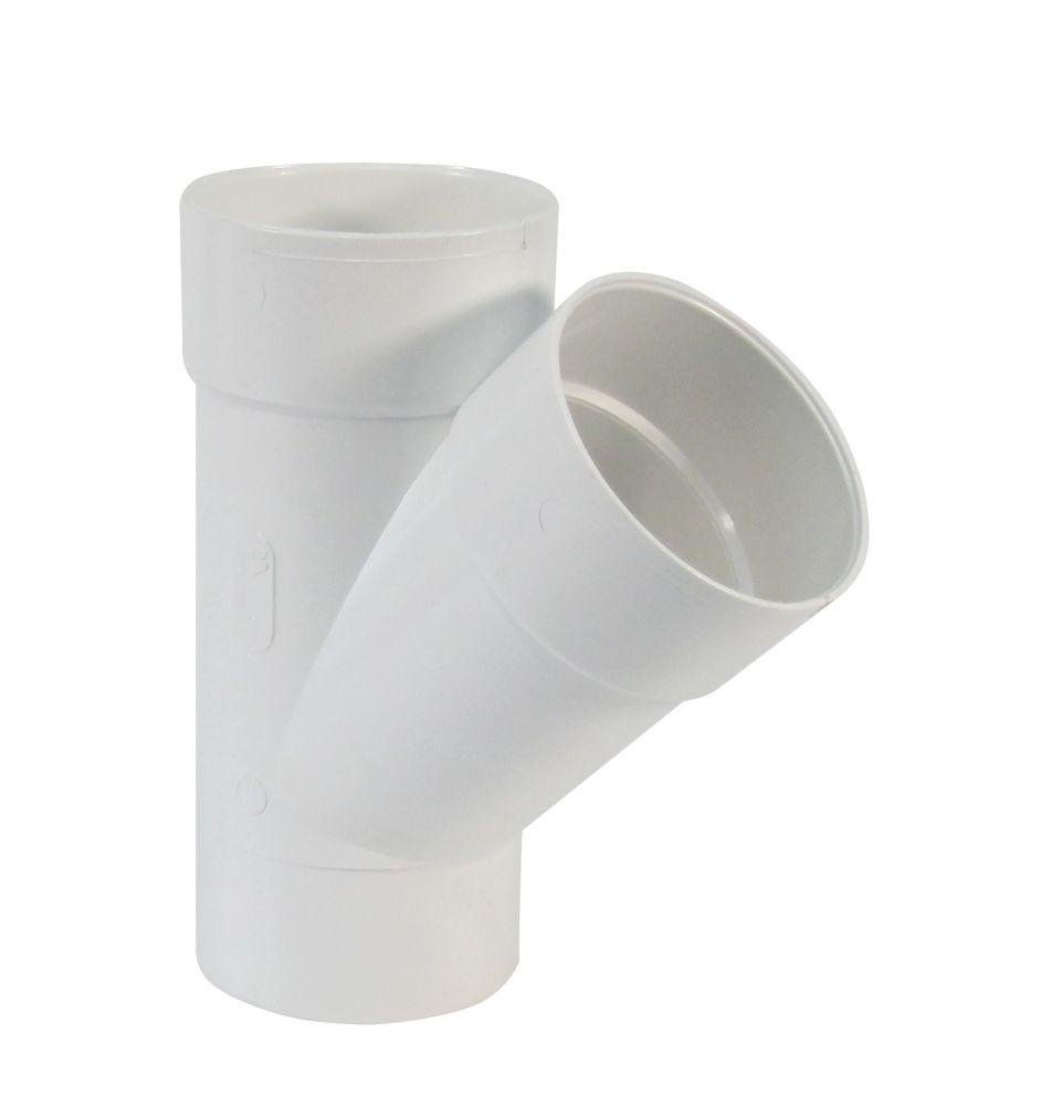 Bow Plastics Ltd Pvc 4 inch Wye Spigot