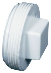 Bow Plastics Ltd Pvc 4 inch Thd Plug | The Home Depot Canada