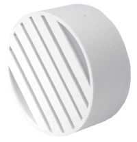 Bow Plastics Ltd Pvc 4 inch Drain Flange | The Home Depot ...