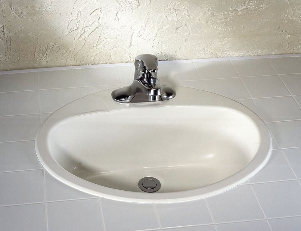Rondalyn SelfRimming Bathroom Sink in Bone 0490156021