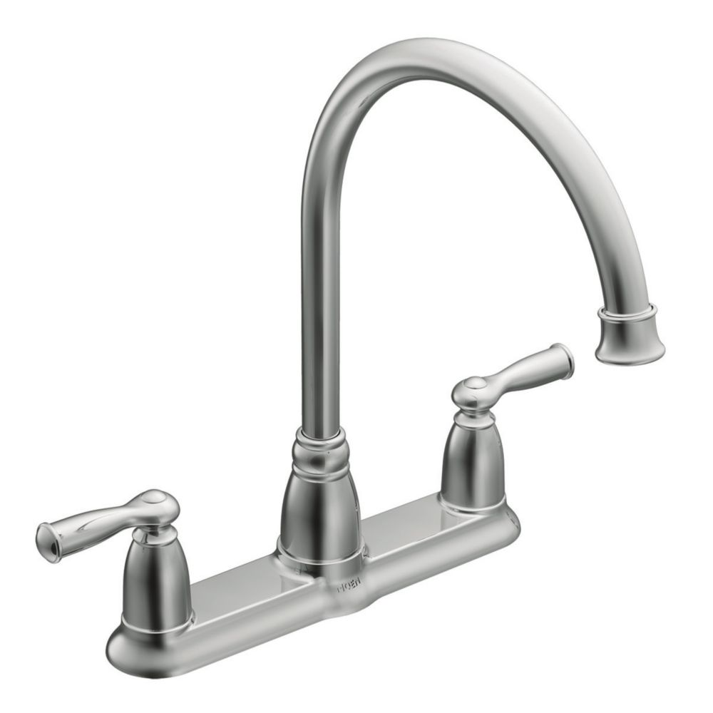 Moen Banbury 2Handle Kitchen Faucet in Chrome  The Home