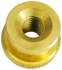 Paulin 10-32 Brass Knurled Nut Home Depot Canada