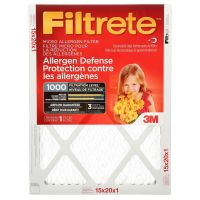 Filtrete 3M Filtrete 15x20 Micro Allergen Reduction Filter ...