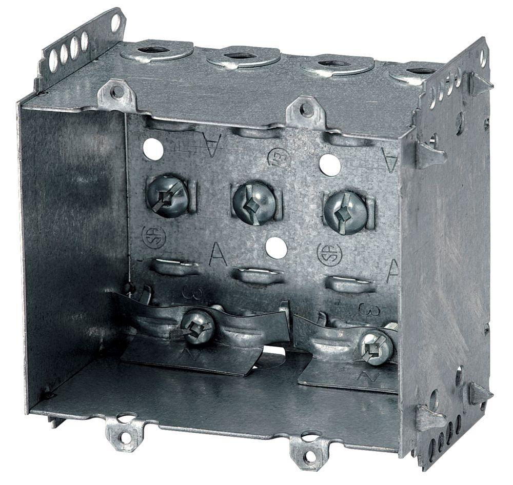 medium resolution of iberville device box 2 1 2 in deep 2 gang loomex
