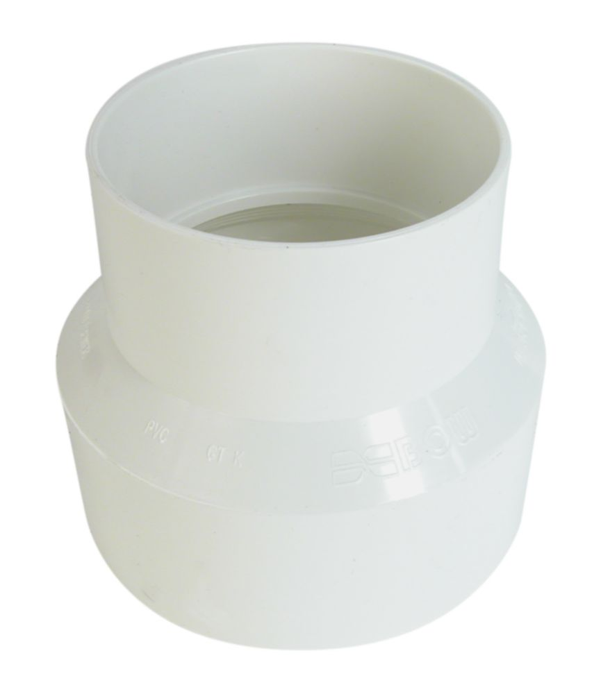 Bow Plumbing Group PVC Sewer Coupling 6 Inch x 4 Inch