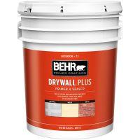 Behr Premium Plus 5 Gallon Flat Interior Ceiling Paint ...