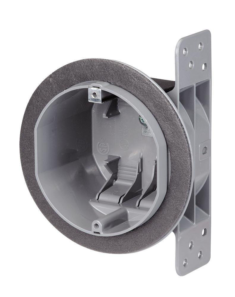 hight resolution of nutek round airtight plastic ceiling box
