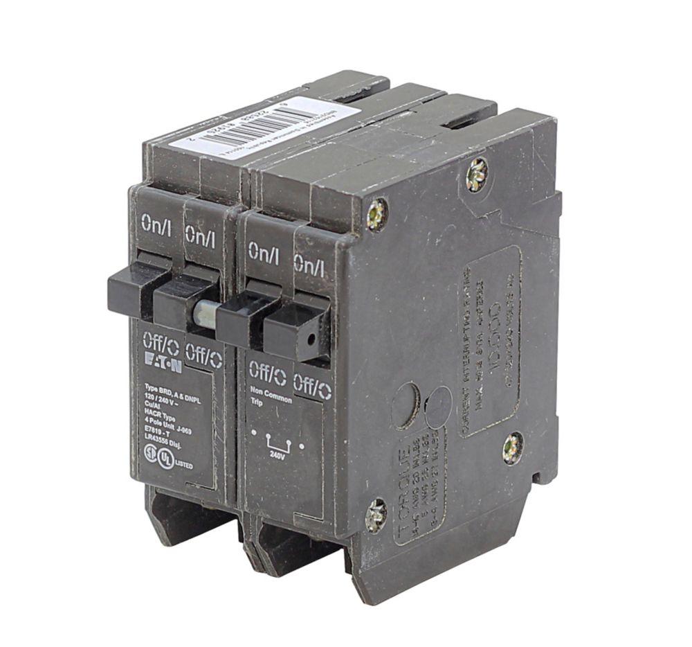 medium resolution of eaton plug in duplex quad replacement breaker 2 1p 15a