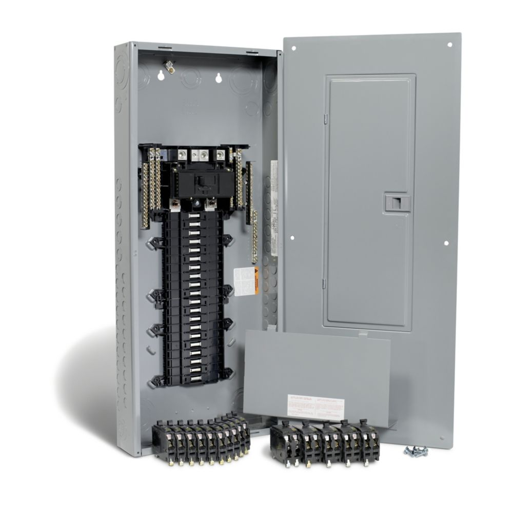square d 200 amp 40 spaces 80 circuits maximum qwikpak panel package with breakers [ 1000 x 993 Pixel ]
