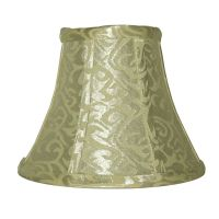 Shawson Lighting 5 Inch Platium / Ivory Bell Lamp Shade ...