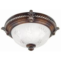 Hampton Bay Bercello Estates Flush Mount Fixture | The ...