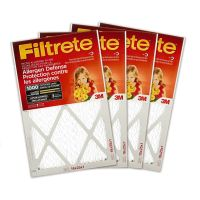 3M Filtrete 16x25 Micro Allergen Reduction Filter 4-Pack ...