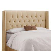 Skyline Furniture Upholstered Queen Headboard in Velvet