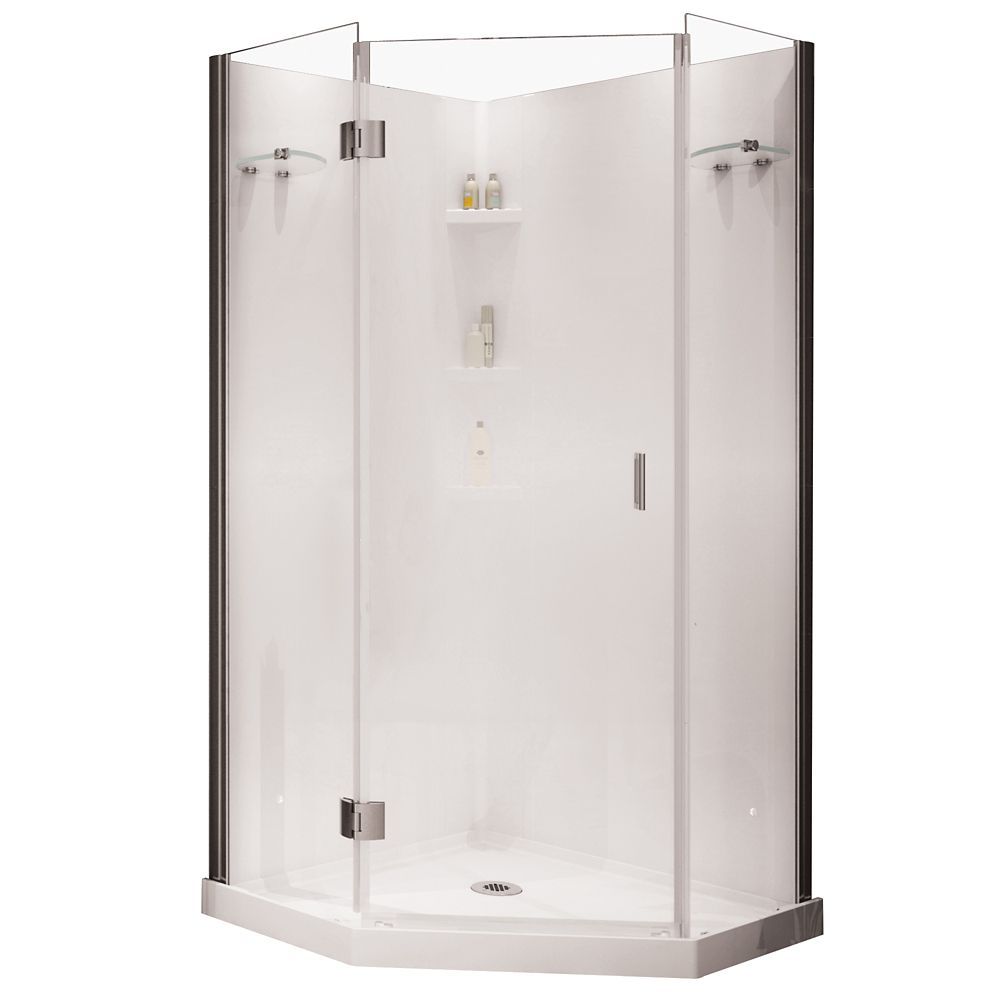 Shower Stalls  Kits  The Home Depot Canada