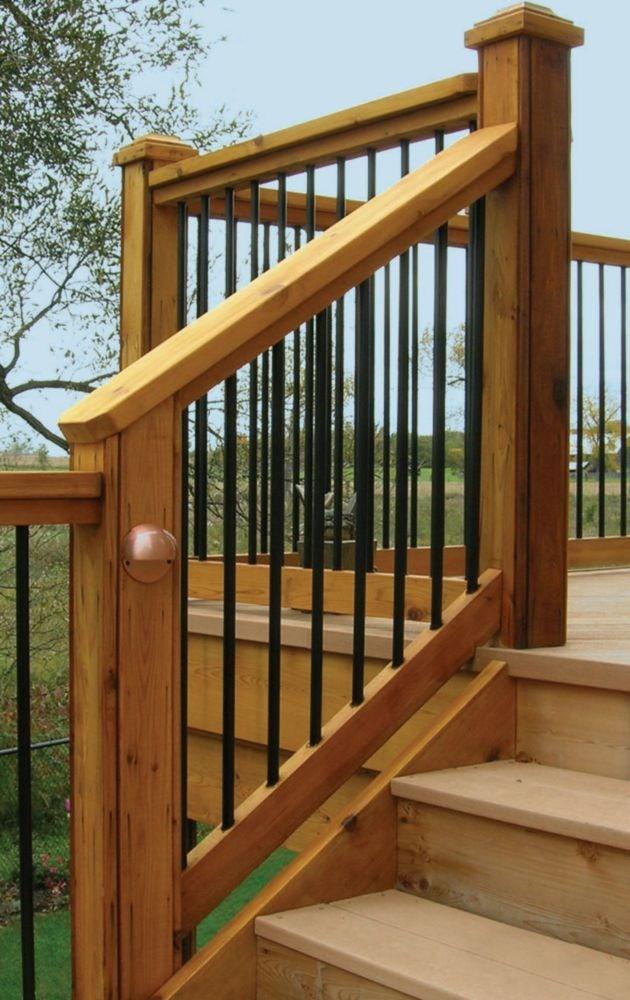 Veranda Stair Rail Kit The Home Depot Canada | Patio Steps Home Depot