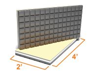 Amdry Insulated Subfloor panel - TILE   The Home Depot Canada