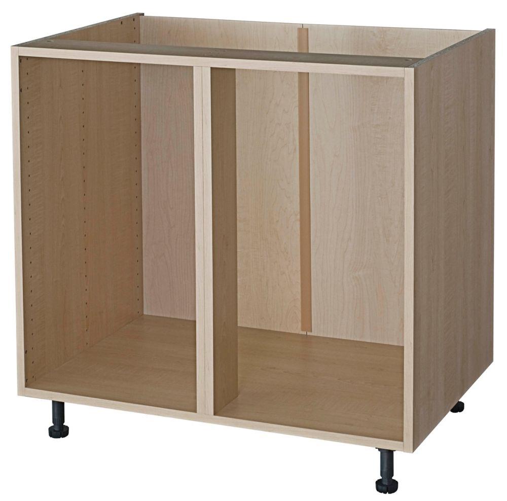 medium resolution of eurostyle corner base cabinet 45 maple